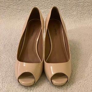 Peep toe Nude High Heels